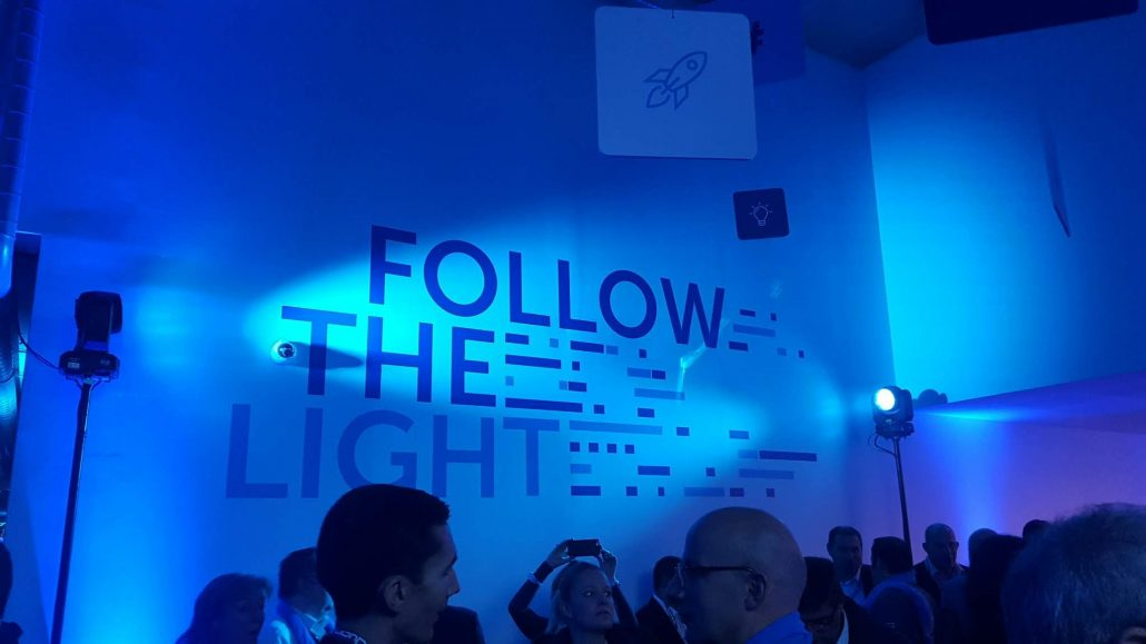 Follow the light - quanta et la fibre