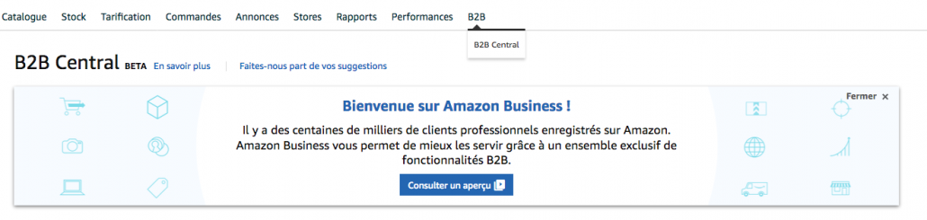 b2b central amazon business