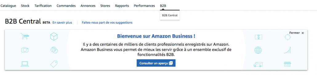 b2b central amazon business